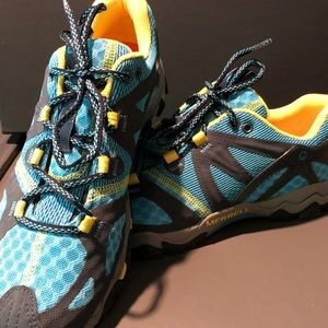 Merrell women's trail running shoes, size 7 1/2.